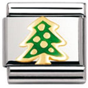 Nm 030228/04 Звено CLASSIC символ РОЖДЕСТВЕНСКАЯ ЕЛКА